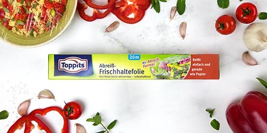 Toppits® Abreiß-Frischhaltefolie