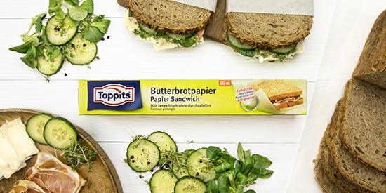Toppits® Butterbrotpapier