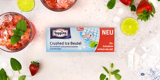 Toppits® Crushed Ice Beutel