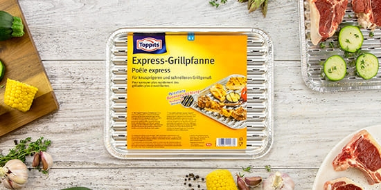 Toppits® Express-Grillpfanne