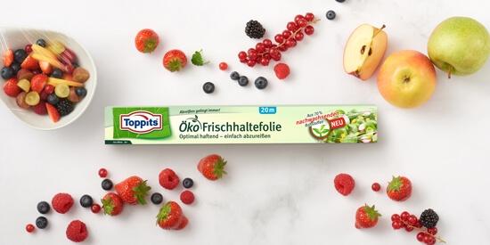 Toppits® Öko Frischhaltefolie