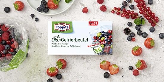 Toppits® Öko Gefrierbeutel
