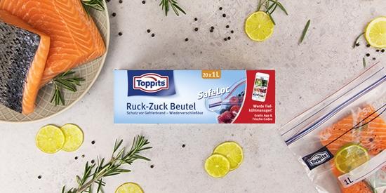 Toppits® Ruck-Zuck Beutel