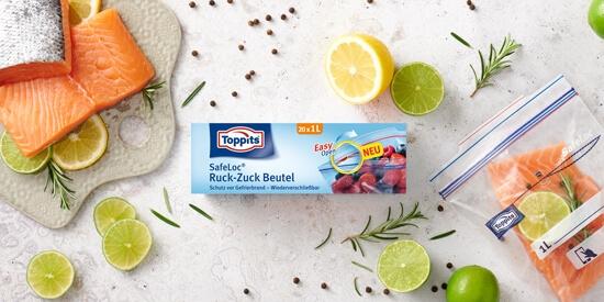 Toppits® SafeLoc® Ruck-Zuck Beutel